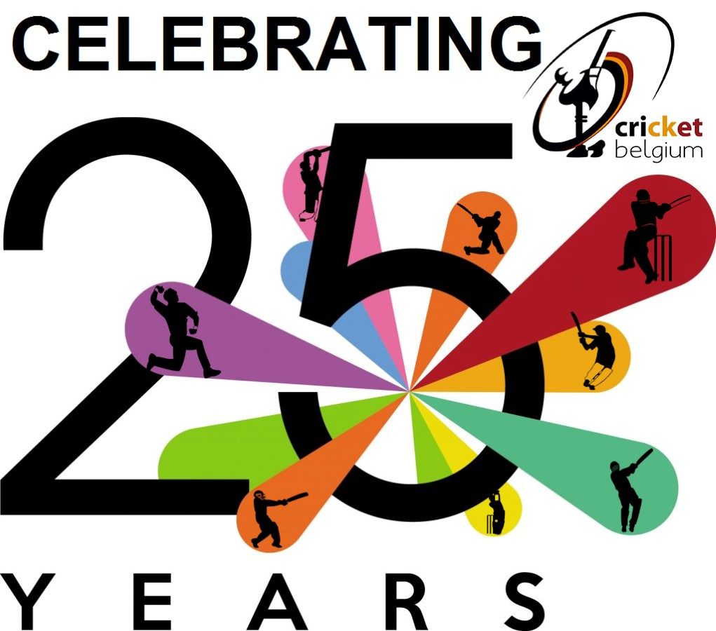 Cricket Belgium 25 years