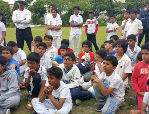 AICC Juniors learns from Farokh Engineer
