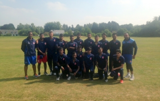France Team - 2015 European U19 Five-Nation Tournament - RBCC Ohain ground - 12th August 2015