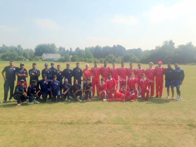France vs Switzerland - 2015 European U19 Five-Nation Tournament - RBCC Ohain ground