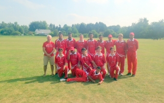 Switzerland Team - 2015 European U19 Five-Nation Tournament - RBCC Ohain ground - 12th August 2015