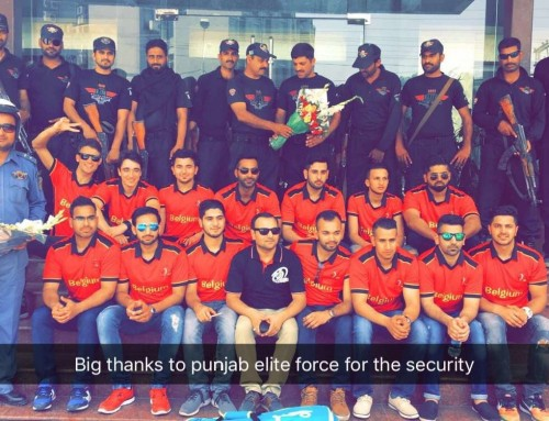 Belgium XI team concludes their tour to Punjab, Pakistan