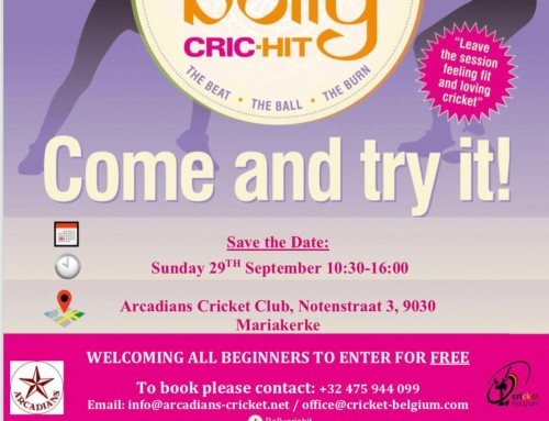 Team Bolly Cric-Hit in Belgium
